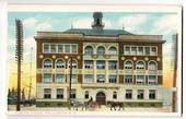 Coloured postcard of Custom House Wellington. - 47386 - Postcard