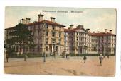 Coloured postcard of Government Buildings Wellington. - 47554 - Postcard