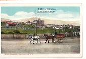 Coloured postcard of Basin Reserve Wellington. A Merry Christmas. - 47644 - Postcard