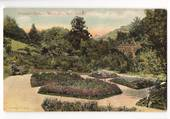Coloured postcard of Botannical Gardens Wellington. - 47845 - Postcard