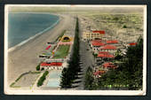 Post earthquake Coloured postcard of Napier. Two copies of virtually the same card but there are some differences. - 47905 - Pos