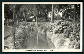 Real Photograph by A B Hurst & Son of Cornwall Park Hastings. - 48044 - Postcard