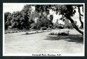 Real Photograph by N S Seaward of Cornwall Park Hastings. - 48058 - Postcard