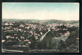 Coloured postcard by Muir and Moodie of Nelson from the zig-zag. - 48638 - Postcard