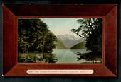 Coloured postcard by Muir and Moodie of the Narrow North Fjord Lake Te Anau. - 49069 - Postcard
