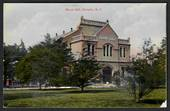 Coloured postcard of Burns Hall Dunedin. Small damage on one corner. - 49160 - Postcard