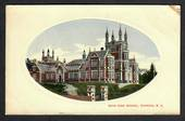Coloured Postcard of Boys' High School Dunedin. - 49161 - Postcard