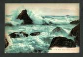Coloured postcard of Gale at Green Island Beach. - 49179 - Postcard