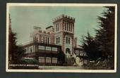 Coloured postcard of Larnach Castle. - 49182 - Postcard