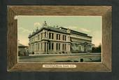 Coloured postcard of Hocken Wing and Museum Dunedin. - 49225 - Postcard
