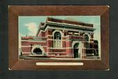 Coloured postcard of Carnegie Public Library Dunedin. - 49231 - Postcard