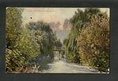 Coloured Postcard of Water of Leith Dunedin. - 49286 - Postcard