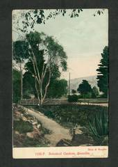 Coloured postcard by Muir and Moodie of Botannical Gardens Dunedin. - 49291 - Postcard