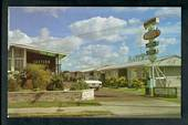 Coloured postcard of Eastern Motel Auckland. - 49729 - Postcard