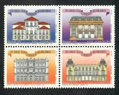 BRAZIL 1993 330th Anniversary of the Braxilian Post. Block of 4. - 50880 - UHM