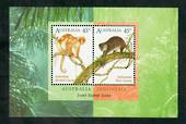 AUSTRALIA 1996 Joint Issue with Indonesia. Miniature sheet. - 50933 - UHM