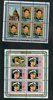 NIUE 1984 Birth of Prince Henry. Set of 2 miniature sheets. - 51005 - UHM