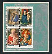 AITUTAKI 1978 Christmas. Miniature sheet. - 52303 - VFU