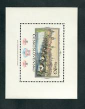 CZECHOSLOVAKIA 1978 Praga '78 International Stamp Exhibition. Eleventh series. Miniature sheet. - 52514 - UHM