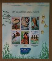 MICRONESIA 1997 Pacific '97 International Stamp Exhibition. Sheetlet of 6 with exhibition logo. - 54030 - UHM