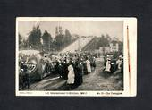 NEW ZEALAND 1906 Postcard by Smith & Anthony of New Zealand International Exhibition. The Toboggan. Minor faults. - 69394 - Post
