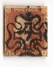 GREAT BRITAIN 1841 1d Red Maltese Obliterator. Number 7. - 70232 - FU