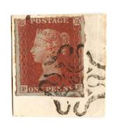 GREAT BRITAIN 1841 1d Red Maltese Obliterator. Number 10. - 70235 - FU