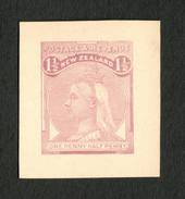 NEW ZEALAND 1882 Second Sideface 1½d Violet. Proof. - 70469 - Proof