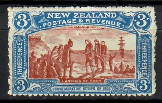 NEW ZEALAND 1906 Christchurch. Exhibition 3d Brown and Blue. - 70494 - Mint