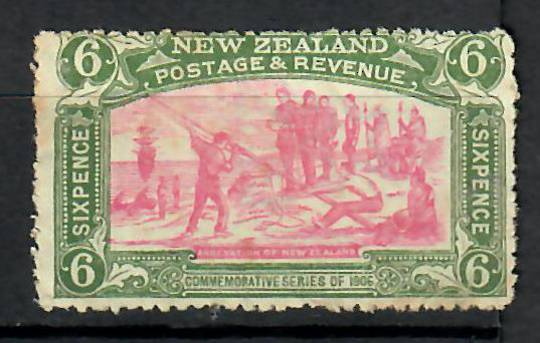NEW ZEALAND 1906 Christchurch Exhibition 6d. UHM. Has paper fold/gum crease visible only at rear. Gum browned and in general not