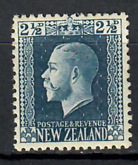 NEW ZEALAND 1915 Geo 5th Definitive 2½d Blue. - 70670 - UHM
