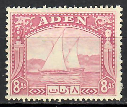 ADEN 1937 Definitive 8a Magenta. - 70920 - Mint
