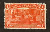 NEW ZEALAND 1906 Christchurch Exhibition 1d Red. Nice bright colour. Two small rust spots. - 71305 - LHM