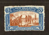NEW ZEALAND 1906 Christchurch Exhibition 3d Brown and Blue. Nice bright colour. Two small rust spots. - 71306 - LHM