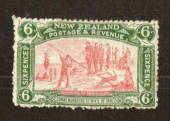 NEW ZEALAND 1906 Christchurch Exhibition 6d Pink and Green. Two or three small rust spots. - 71307 - LHM