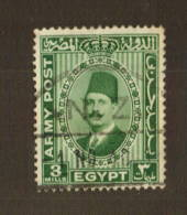EGYPT Army Post with NZ Postmark. - 74721 - VFU