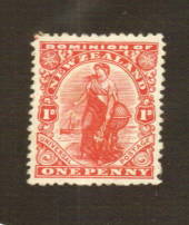 NEW ZEALAND 1926 1d Dominion. Cowan Thick Chalky paper. - 74768 - Mint