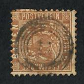 BADEN 1862 Definitive 9k Yellow-Brown. - 75456 - Used
