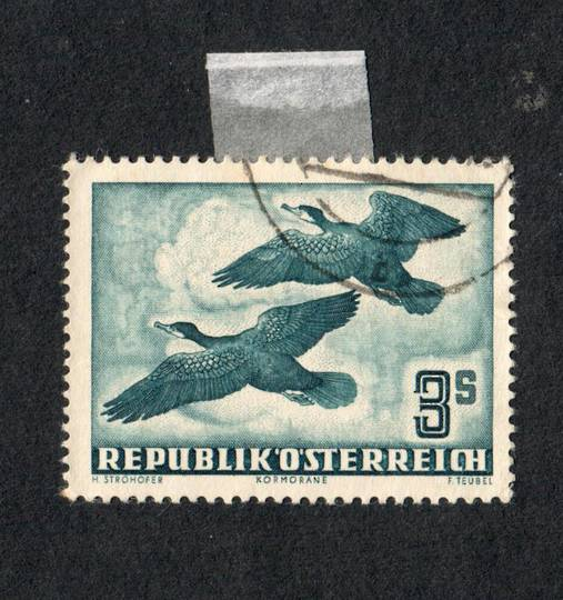 AUSTRIA 1950 Air Definitive 3s Deep Turquoise. - 75542 - VFU