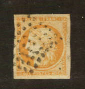 FRANCE 1849 Definitive 40c Orange. Four large margins. There is a clear colour difference with #76203. From the collection of A