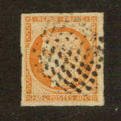 FRANCE 1849 Definitive 40c Red-Orange. There is a clear colour difference with #76202. Four huge margins. From the collection of
