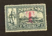 ALBANIA 1914 Postage Due 2p Grey. Unlisted by SG. - 78802 - Mint