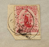 NEW ZEALAND 1898 ½d Mt Cook. Pirie paper. Perf 11. Some light tone spots. Block of 4 with top selvedge. - 79396 - UHM