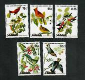 AITUTAKI 1985 Bicentenary of the Birth of John J Audubon. Set of 5. - 90022 - UHM