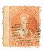 NEW ZEALAND 1862 Full Face Queen 2d Orange. - 10011 - Used