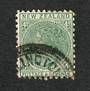 NEW ZEALAND 1882 Victoria 1st Second Sideface 4d Green. - 10032 - FU