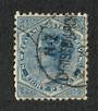 NEW ZEALAND 1882 Victoria 1st Second Sideface 8d Blue. - 10035 - FU