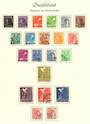 GERMANY Allied Occupation 1947 Definitives. Set of 21. - 100358 - VFU