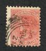 NEW ZEALAND 1882 Victoria 1st Second Sideface 1/- Chestnut. - 10036 - FU