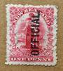 NEW ZEALAND 1901 1d Universal Official. - 10065 - FU